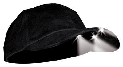 BLK Lighted Hat