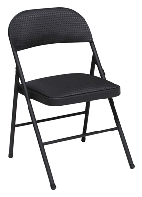 BLK MTL Fold Chair