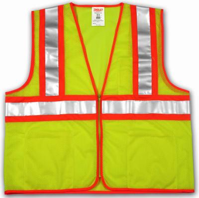 2X-3XLime/YEL Safe Vest