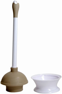 Microban Plunger/Caddy - Woods Hardware