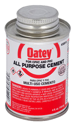 4OZ CLR AP Solv Cement