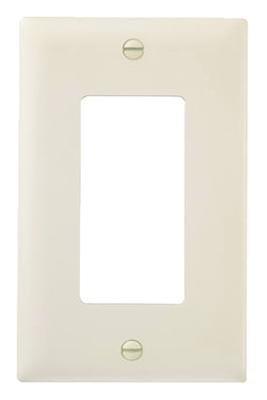 10PK ALM 1G Decor Plate - Woods Hardware
