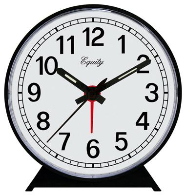 BLK Keywind Alarm Clock
