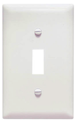 WHT 1G TOG Wall Plate - Woods Hardware