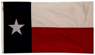 3x5 Nyl Texas Flag