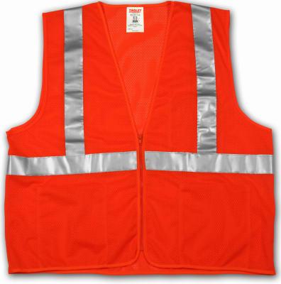 2X/3XL ORG Safe Vest