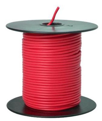 100 RED 18GA Prim Wire