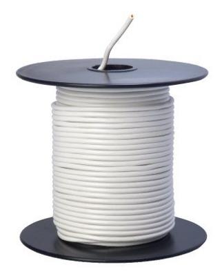 100 WHT 18GA Prim Wire