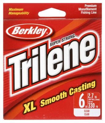 Trilene XL 6LB CLR Line