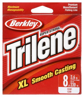 Trilene XL 8LB CLR Line