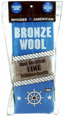 3PK BRZ Fine Wool Pad