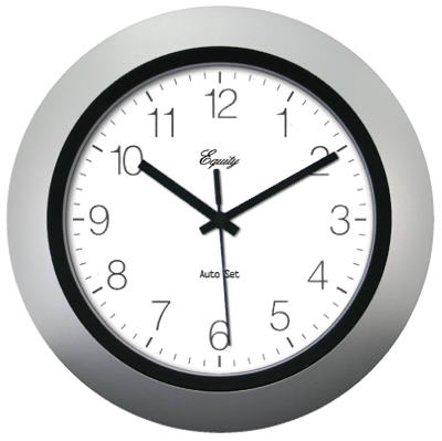 "10"" SLV Auto Set Clock"