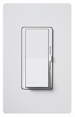 Diva WHT SP/3WY Dimmer - Woods Hardware