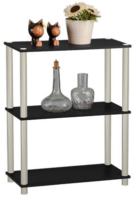 3-Tier BLK Book Shelf