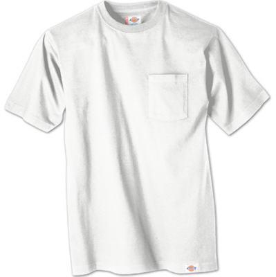 2PK XL WHT Pock TShirt