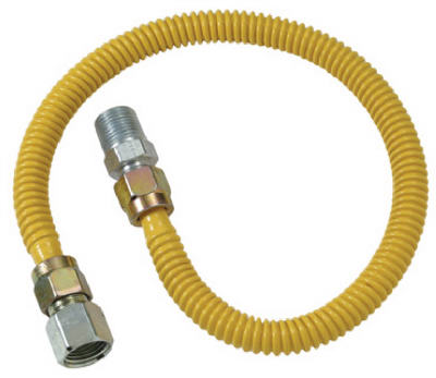 """48"""" SS Gas Connector"""