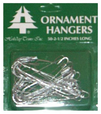 50CT SLV Ornament Hook
