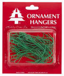 "HOLIDAY TRIM 3929000 50 Count, Green, Giant 2-1/2"" Ornament Hook.<br>Made in: US"