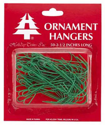 50CT GRN Ornament Hook
