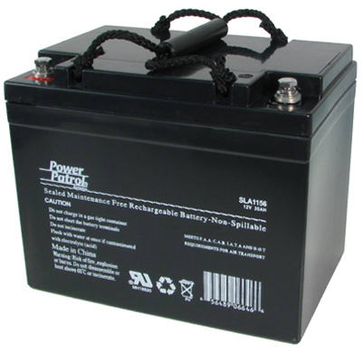 12V34A LeadAcid Battery