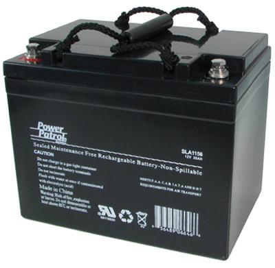 12V34A LeadAcid Battery