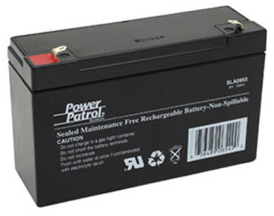 6V 10A LeadAcid Battery
