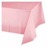 "CREATIVE CONVERTING 014016 54"" x 108"", Classic Pink, Plastic Table Cover, Covers An"