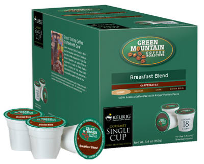 18CT Break Blend K Cup