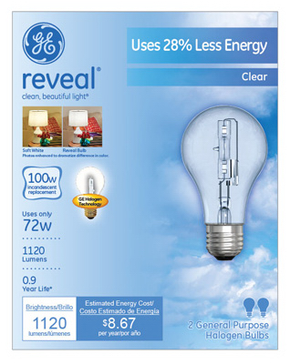 GE2PK 72W Rev Halo Bulb - Woods Hardware