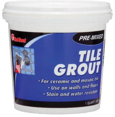 QT PreMix Tile Grout