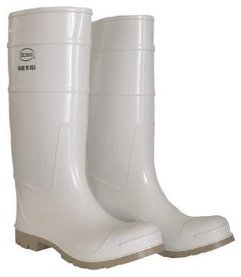 "SZ12 16"" WHT PVC Boot"