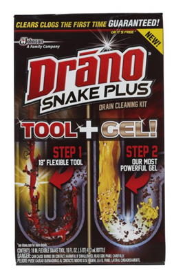16OZ Drano Cleaning Kit