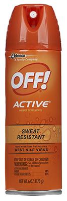 Off! 6OZ Aero Repellent - Woods Hardware