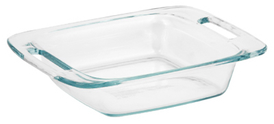 "Pyrex 8"" SQ Baking Dish"
