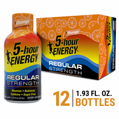 2OZ ORG 5HR Energy