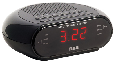 Dual Wake Clock Radio
