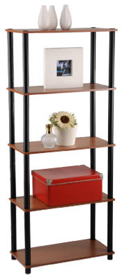 5-Tier Cherr Book Shelf