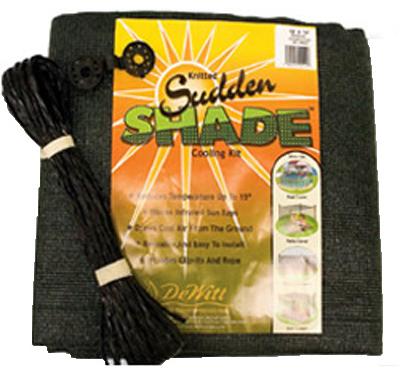 12x12BLK Shade Fabric