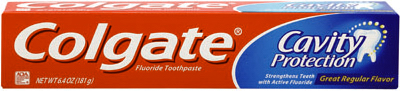 Col 6.4OZ Reg Toothpast