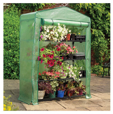 4Tier Wide Greenhouse