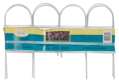 10x10 WHT Arch Fence