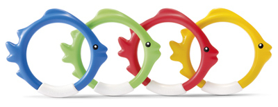 4PC UnderWTR Fun Ring