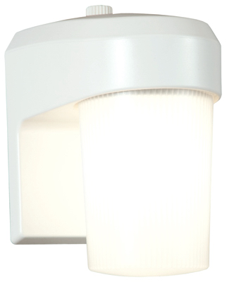 13W WHT Fluo EntryLight - Woods Hardware