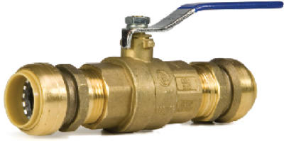 "1"" Push On Ball Valve"