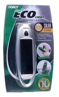 3LED Solar Flashlight