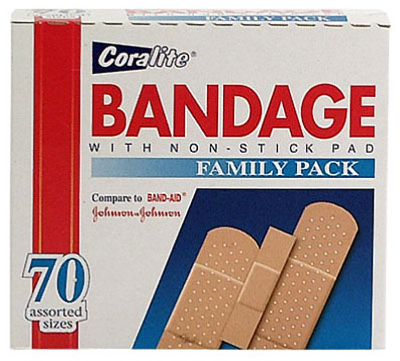 70CT Bandages ASSTD - Woods Hardware