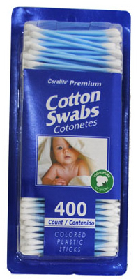 400CT 100% Cotton Swabs