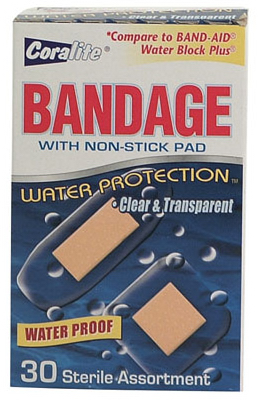30CT WTRproof Bandages - Woods Hardware