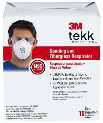 10PK SandFBG Respirator