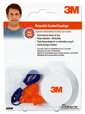 CRD Reusable Earplugs